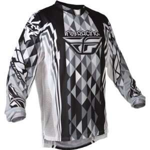 2012 FLY RACING KINETIC JERSEY (LARGE) (BLACK/GREY