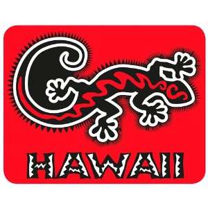 Hawaii Gecko   Hawaiian Art Decal   Car Window Bumper Sticker