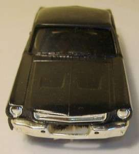 Eldon 1/32 Mustang Fastback, Custom Painted Black, 60s