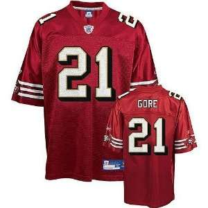 Frank Gore #21 San Francisco 49ers Youth NFL Replica Player Jersey