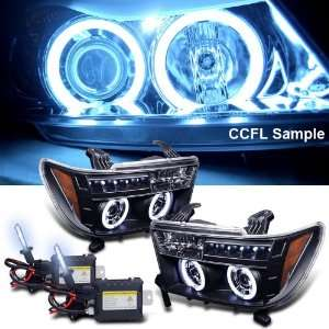 Xenon HID Kit + 07 11 Toyota Tundra Ccfl Halo LED Projector Headlights