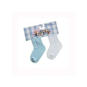 Lee Middleton Blue Play Baby Doll Socks Baby