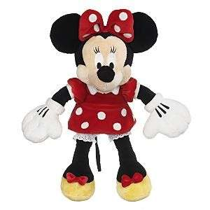 Authentic Disney NEW Minnie Mouse 17 Plush Doll Red NWT Gift