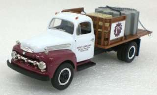 1993 FIRST GEAR 1951 FORD F 6 Half Rack Stake Truck