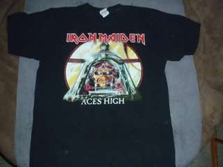 Iron Maiden Aces High Live to Fly, Fly To Live Shirt