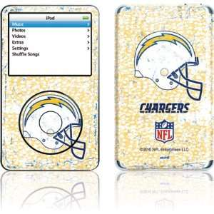San Diego Chargers   Helmet skin for iPod 5G (30GB)