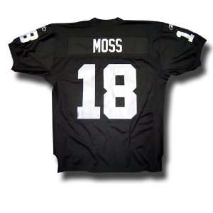 Randy Moss #18 Oakland Raiders NFL Authentic Player Jersey by Reebok