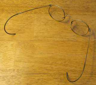 Vintage Antique B & L 1/10 12K GF Gold Frame Wire Rim Eye Glasses w