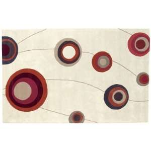 Dynamic Rugs Nolita Collection Handmade Wool Hearth Rug
