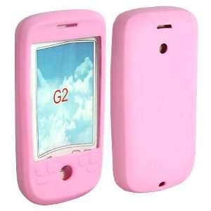 Google Phone 2 G2 HTC Accessory. Premium Pink Silicon Skin