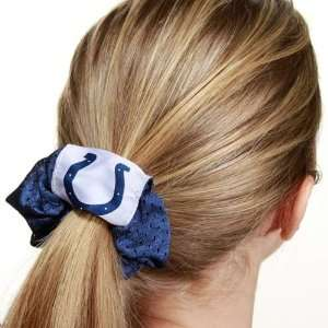 NFL Indianapolis Colts Royal Blue Mesh Hair Twist