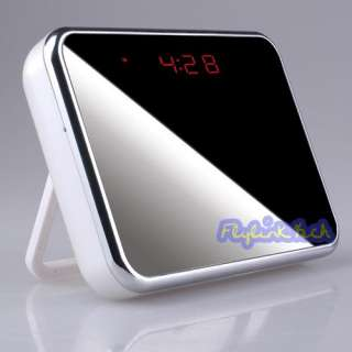 Display Spy Clock DV DVR Wide Angle Motion Activated Hidden Camera