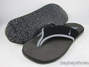 NIKE CELSO THONG PLUS BLACK/COOL GRAY/WOLF GRAY FLIP FLOP SANDALS MENS