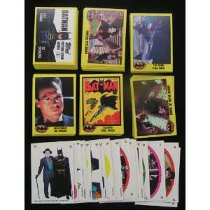1989 Batman The Movie Series 2 Trading Card Set 9 (Complete 132 card