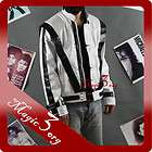 Michael Jackson Thriller Jacket, Special White Edition, MJ Costume