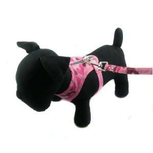 Happy Puppy Designer Dog Accessory   Camouflage Harness