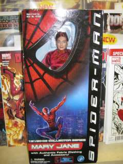 SPIDER MAN MARY JANE 12 FIGURE DOLL COLLECTOR SERIES