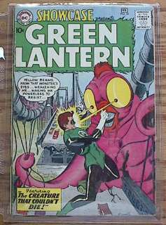 SHOWCASE #24 DC Comic Book  3rd Green Lantern VG