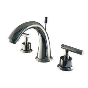 MANHATTAN 8 WIDESPREAD LAV FAUCET W/BRASS POP UP  Polished