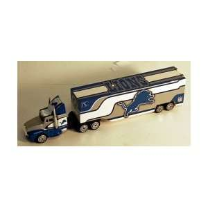 Detroit Lions NFL 187 Scale Tractor Trailer Sports