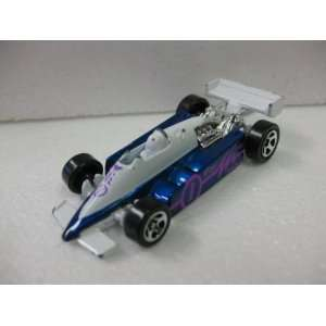 White Open Wheel Goodyear Racing Matchbox Car Toys