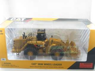 50 NORSCOT CATERPILLA​R CAT 993K WHEEL LOADER metal Diecast 55229