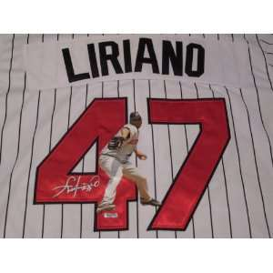 FRANCISCO LIRIANO SIGNED AUTOGRAPHED JERSEY MINNESOTA TWINS