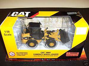 NORSCOT DIE CAST 1/50 CAT 906H COMPACT WHEEL LOADER