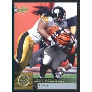 Troy Polamalu   Steelers   2009 Upper Deck NFL Football