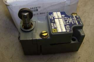 NEW SQUARE D LIMIT SWITCH 9007 C52B2 ROLLER HEAD