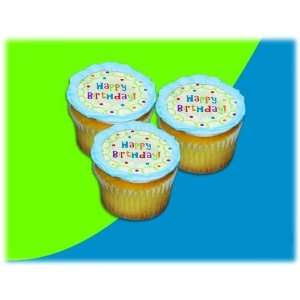 UB FUN A17935 06 BIG WHITE BIRTHDAY CAKE ICING SHEET 2.2
