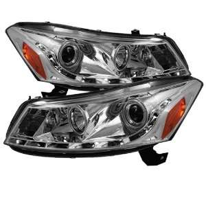 Spyder Auto PRO YD HA08 4D DRL C Honda Accord 4 Door Chrome DRL LED