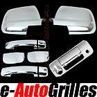 07 12 toyota tundra double cab chrome mirror+ 4 door
