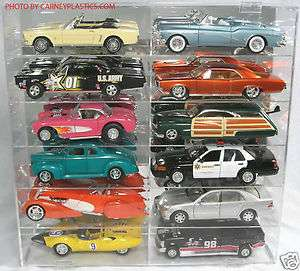 Auto Art Diecast Display Case 1/18th Car 12 Compartment