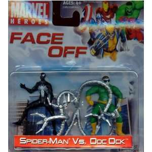 Marvel Heroes Spider Man vs. Doc Ock Face Off Toys & Games