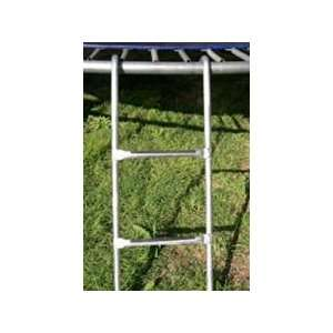 Trampoline 2 Step Extra Strength Metal Ladder Everything