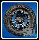 XD MONSTER BLACK RIMS W/ 35X12.50X20 TOYO OPEN COUNTRY MT TIRES WHEELS