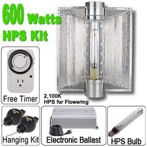 600 Watt HPS Grow Light Electronic Ballast Cool Tube
