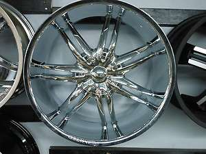 BRAND NEW SET OF 24 LIMITED 801 CHROME WHEELS NEW