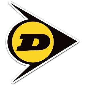 Dunlop Racing Car Bumper Sticker Decal 4x3.5 Everything