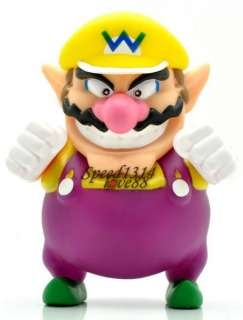 Super Mario Bros WARIO Action Figure Toy#MS222