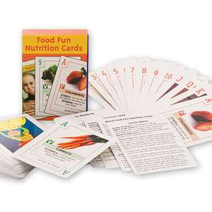 Food Fun Nutrition Cards Exercise & Fitness