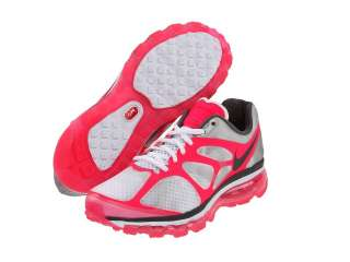 Nike Air Max+ 2012 White, Pink, and Grey Fashion Comfort Athletic Shoe