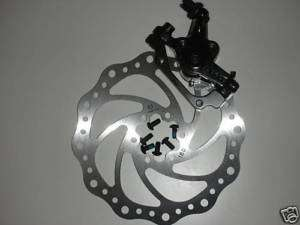 Bike BICYCLE Disk Disc Brake Caliper 180mm Front 6 Bolt