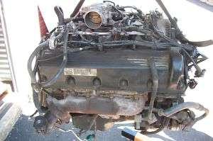 96 97 FORD MUSTANG ENGINE GT 4.6L VIN X 8TH DIGIT