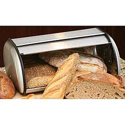 Stainless Steel Roll top Bread Box