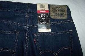 Levis 537 Boot Cut Slim Jeans Many Sizes  NWT