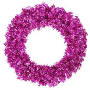 Cut Laser Tinsel Artificial Christmas Wreath   Unlit