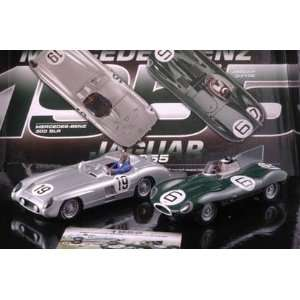 Edition   Jaguar D Type & Mercedes Benz 300 SLR (C3058A) Toys & Games