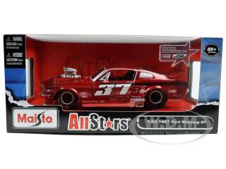 Brand new 124 scale diecast car model of 1967 Ford Mustang GT Pro